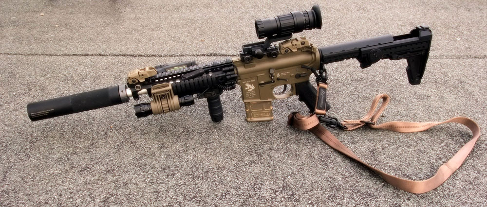 Larue Style Navy Seal M4 Airsoft Weapon Builds