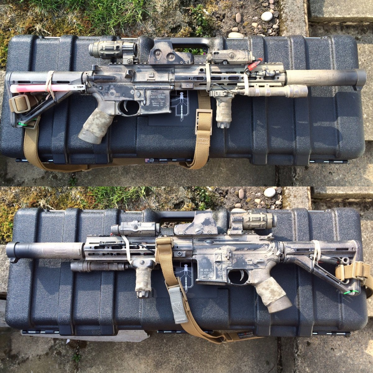 Box Stock Project >> Tier 1 operator HK416 - Airsoft Weapon Builds