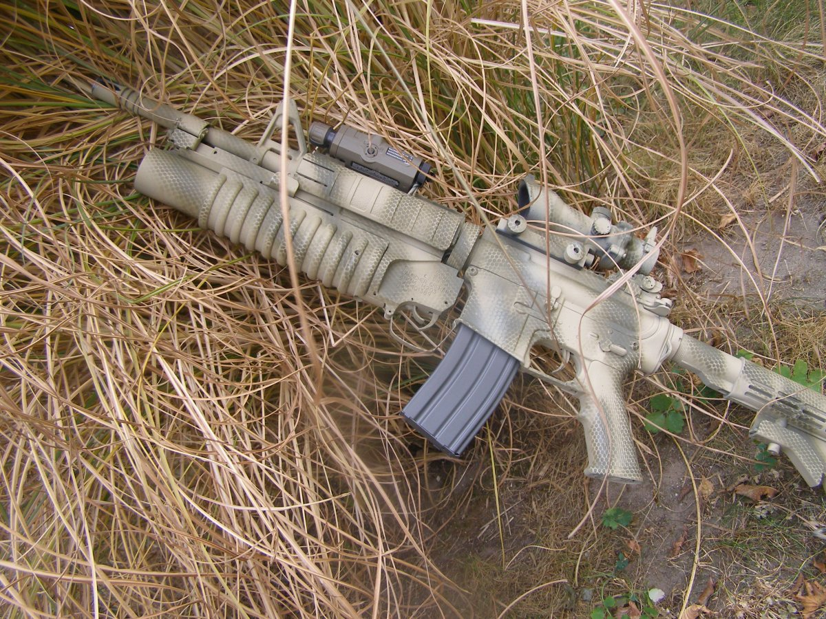 M4A1/M203 - Airsoft Weapon Builds