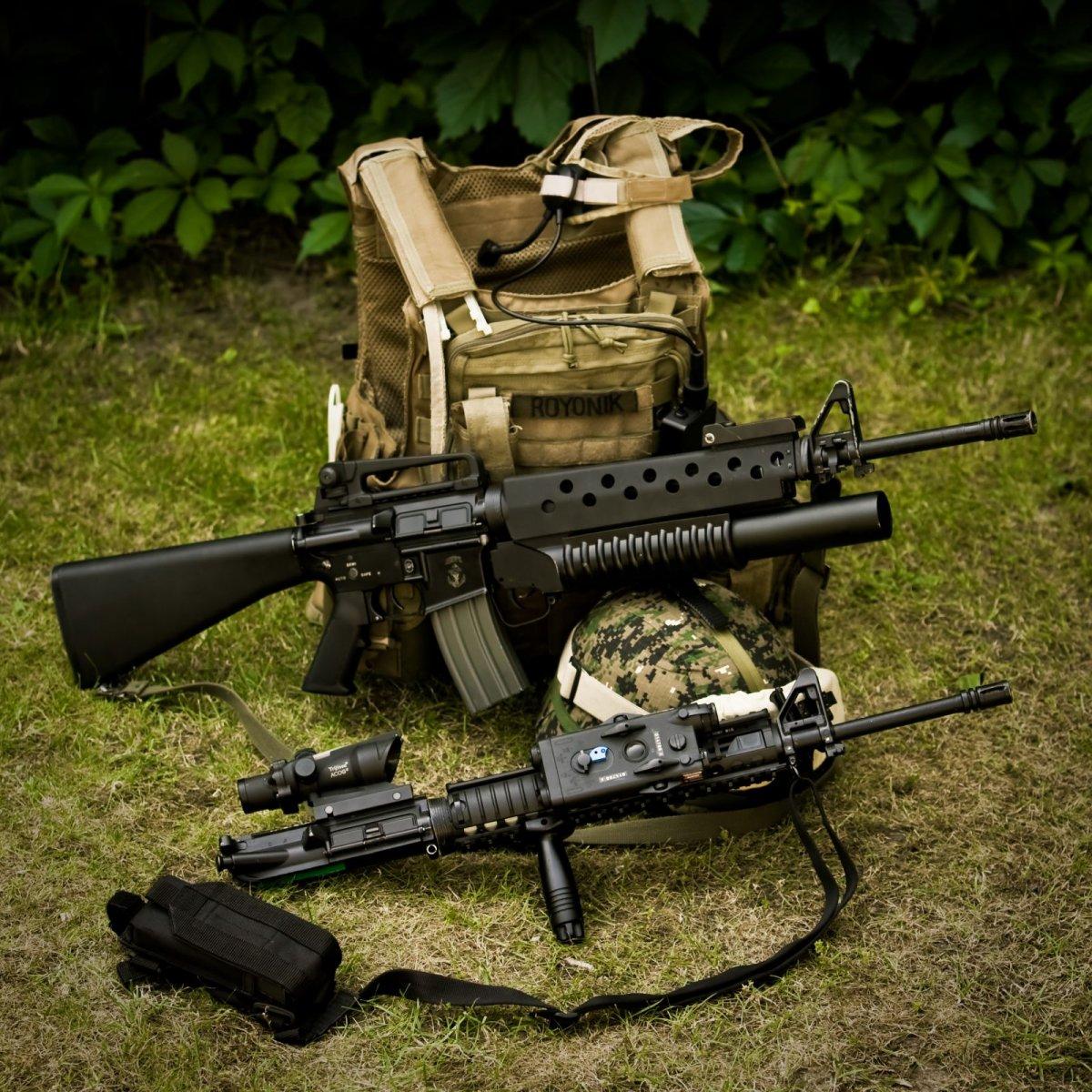 M16A3/M203 w. M16A4 up...