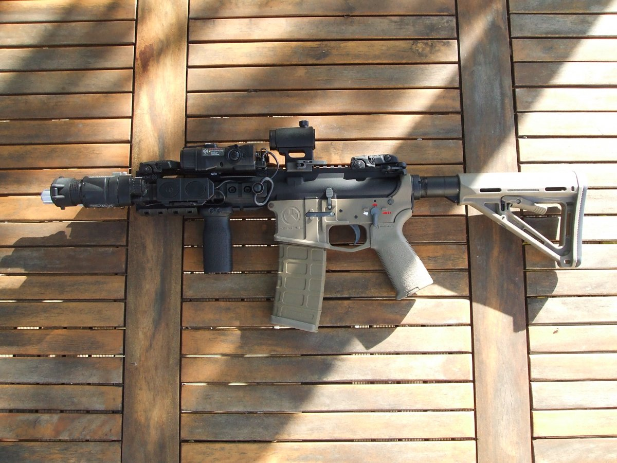 M4 Magpul Noveske 2tone Gbbr Airsoft Weapon Builds