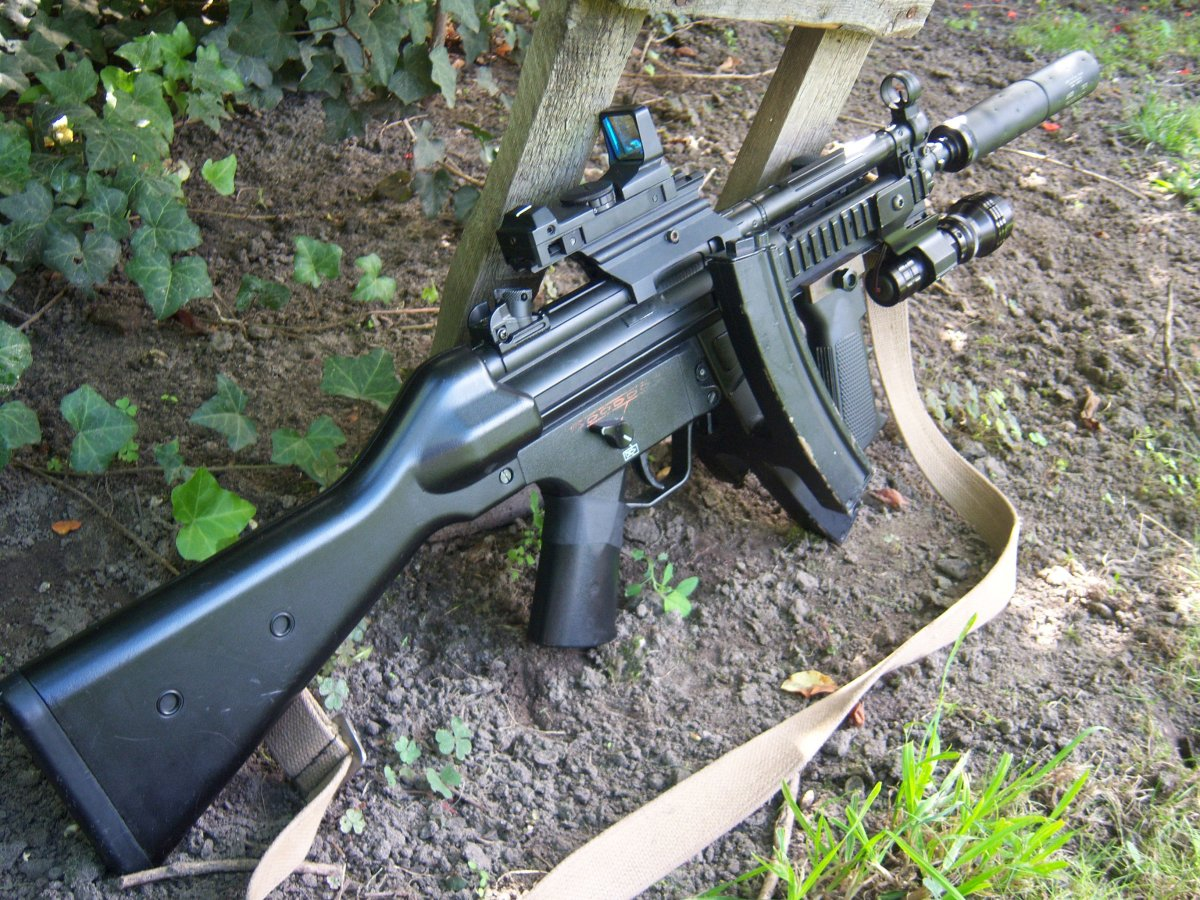 Meclada Mp5 Navy Airsoft Weapon Builds