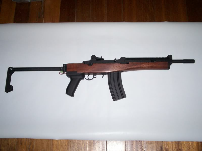 Ruger Mini 14 Ac556f Airsoft Weapon Builds