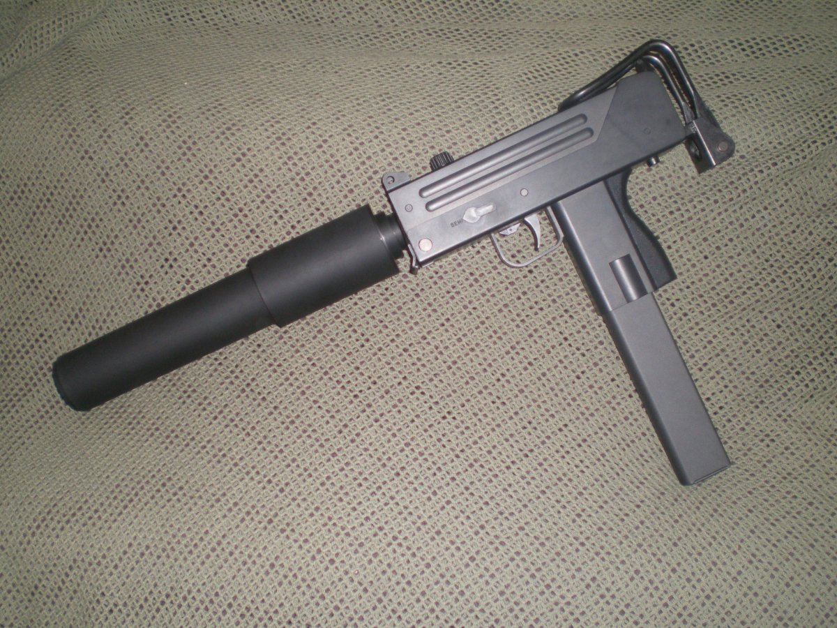 Overkill TM Mac 10 - Airsoft Weapon Builds